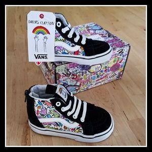 Vans Shoes - Van s Dallas Clayton Unicorn Sk8-Hi Zip 60949f05a